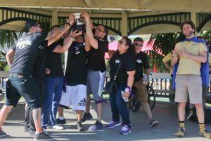 Outdoor team building activity Orange County