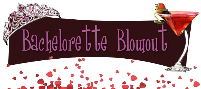 Bachelorette Blowout Logo