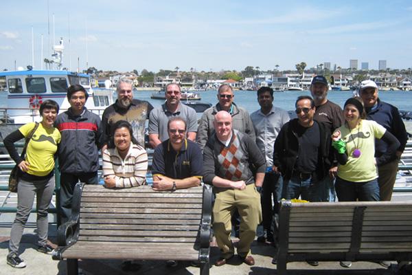 Duffy Boat Sailors