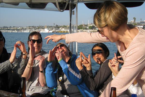 Duffy Boat Walk the Duffy Plank