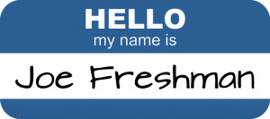 Hello My Name Is Joe Freshman