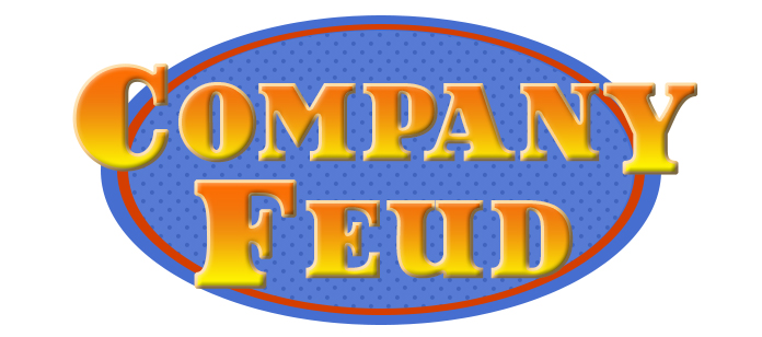 Laugh out loud, Family Feud company team building game show