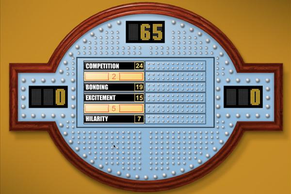 Family Feud Scoreboard