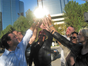 Our Los Angeles team building programs recharge your team's super powers