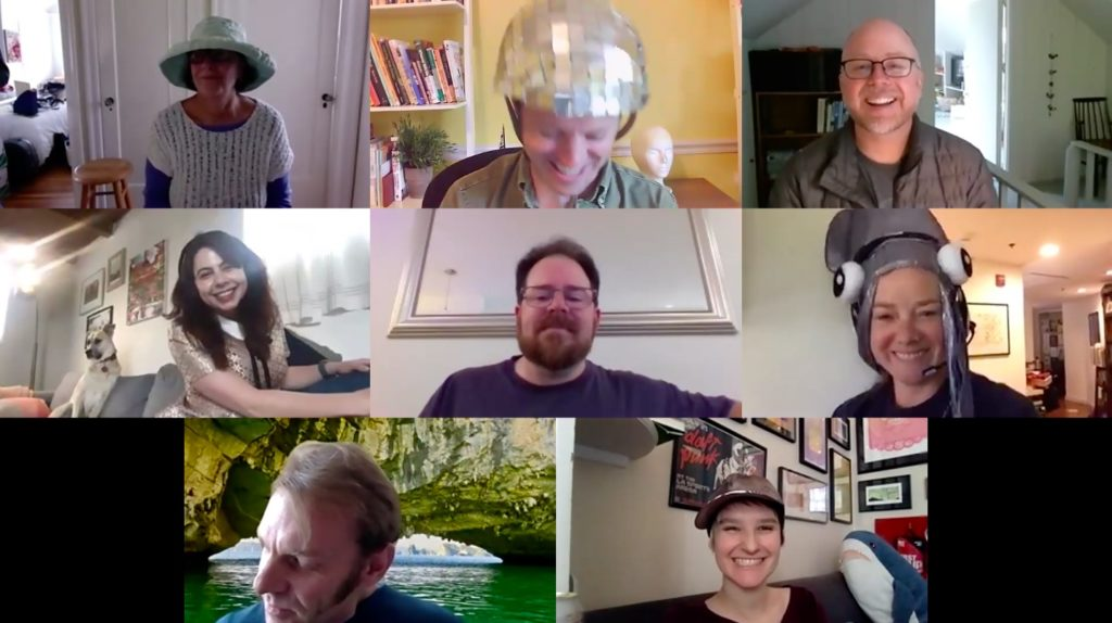 Remote team building activity for work from home teams