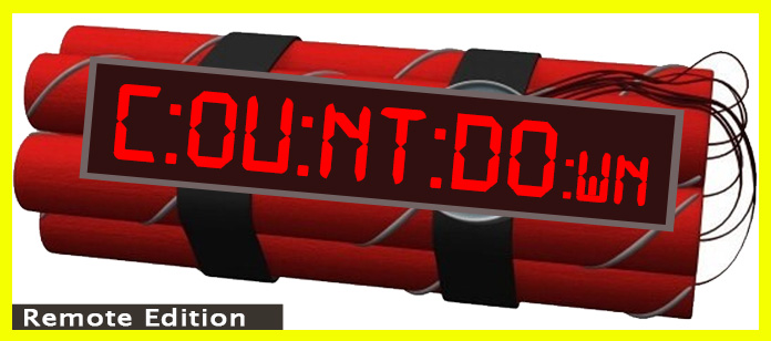 Countdown Remote Escape Room Team Building Program