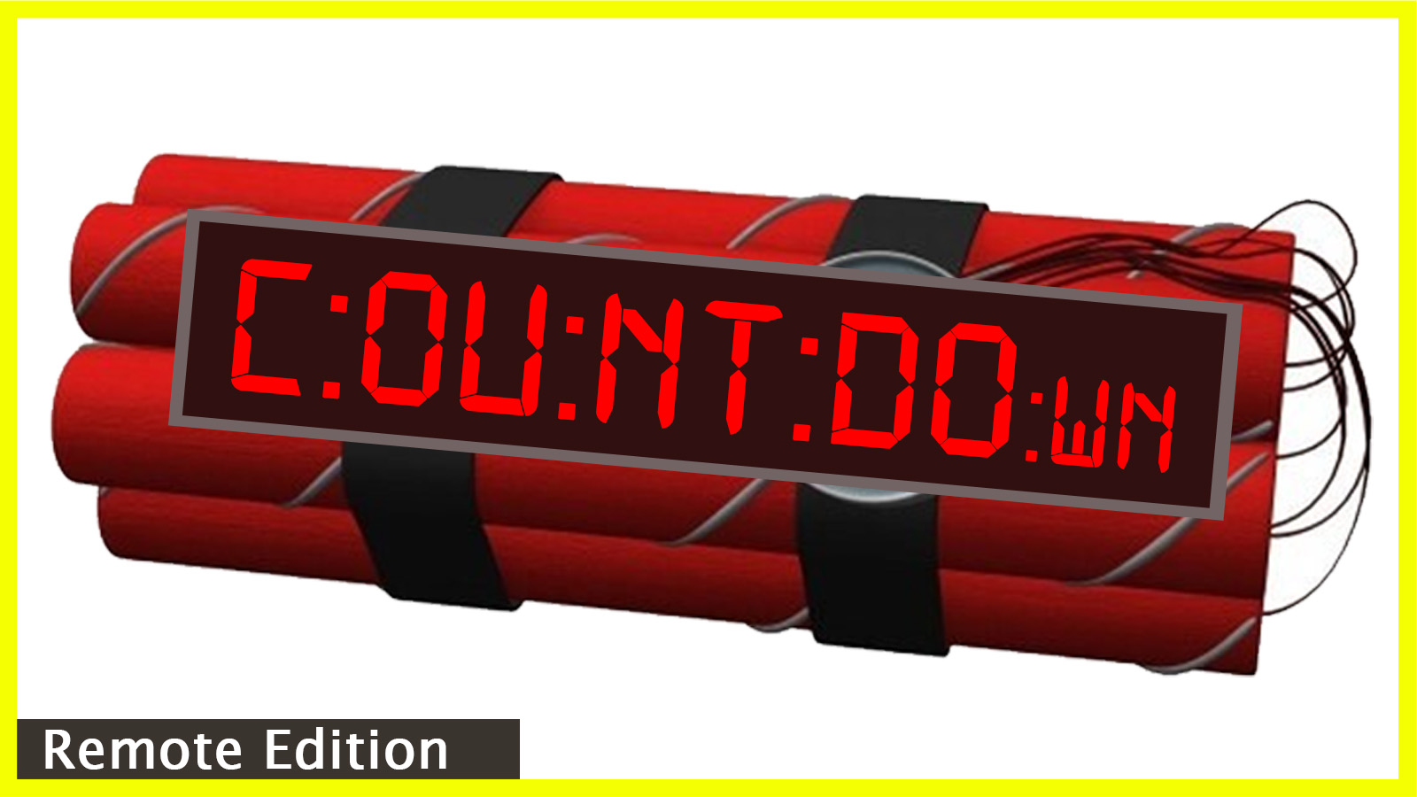Countdown Remote Virtual Escape Room Team Building Program
