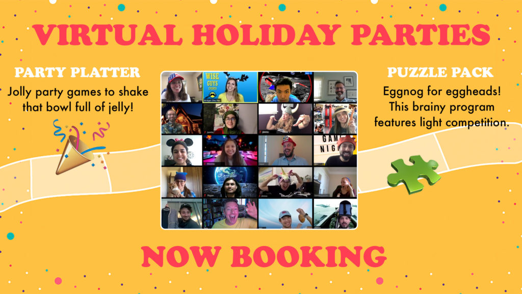 Zoom Holiday Party Planning for Remote Teams