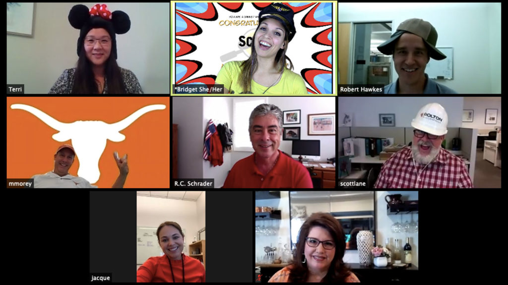 Remote Team Building Event on Zoom